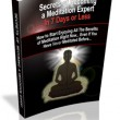 Meditate Like An Expert Book image